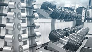 Hintergrundbilder Viel Hanteln Fitnessstudio