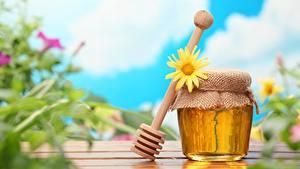 Hintergrundbilder Honig Weckglas Lebensmittel