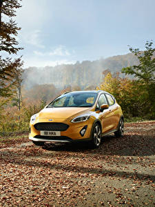 Fotos Ford Gelb 2017 Fiesta Active Worldwide Autos