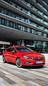 Wallpapers Opel Red 2015 Astra K