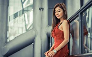 Hintergrundbilder Asiatische Kleid Hand junge Frauen