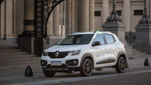 Picture Renault White Metallic 2018-19 Kwid Outsider Latam automobile