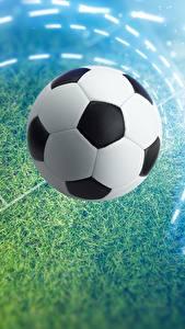 Desktop hintergrundbilder Fußball Ball Rasen Sport