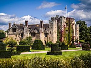 Fotos Burg England Gras Design Strauch Hever castle Städte