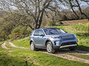 Pictures Range Rover Sport utility vehicle Light Blue 2019 Discovery Sport P250 S Worldwide automobile