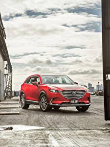 Bilder Mazda Rot 2016 CX-9 GT Autos
