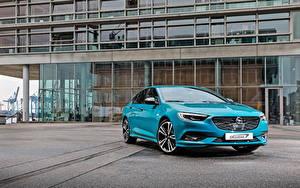 Hintergrundbilder Opel Hellblau Metallisch 2017-18 Insignia Grand Sport Exclusive
