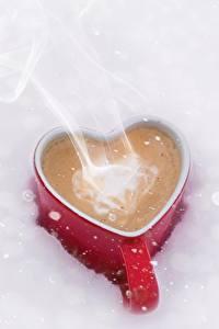 Pictures Coffee Mug Heart Vapor