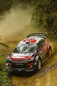 Fotos Citroen Fahrzeugtuning Metallisch Rallye 2017-18 C3 WRC Autos