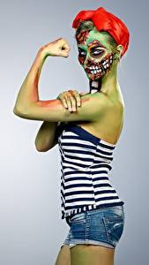 Fotos Zombie Make Up junge Frauen
