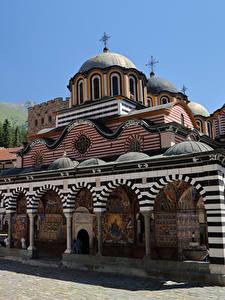 Fotos Bulgarien Tempel Kloster Design Rila monastery Städte