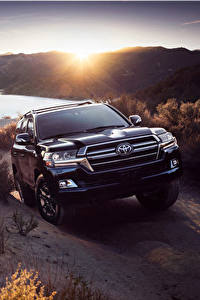 Fotos Toyota Sport Utility Vehicle Schwarz Metallisch Vorne 2020 Land Cruiser Heritage Edition Autos