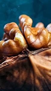 Bilder Makrofotografie Großansicht Nussfrüchte Walnuss das Essen
