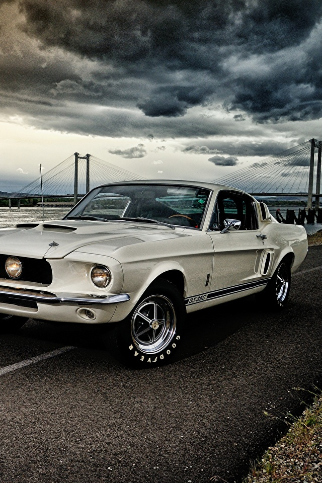 Wallpaper Ford Mustang Gt350 1967 Shelby Cars 640x960