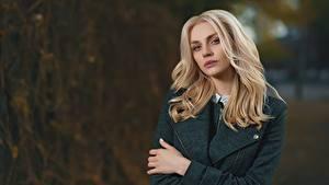 Hintergrundbilder Unscharfer Hintergrund Blond Mädchen Blick Haar