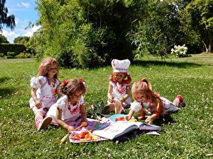 Hintergrundbilder Park Gemüse Design Puppe Kleine Mädchen Köche Bücher Gras Grugapark Essen