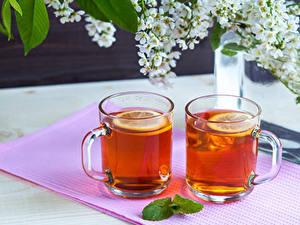 Hintergrundbilder Tee Zwei Tasse Lebensmittel