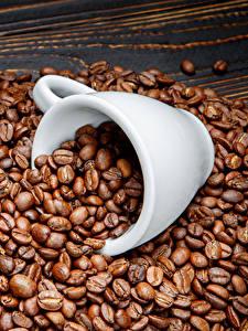 Bilder Kaffee Viel Bretter Getreide Tasse das Essen