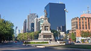 Fotos Mexiko Gebäude Denkmal Stadtstraße Mexico Städte