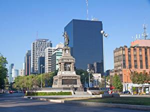 Fotos Mexiko Gebäude Denkmal Stadtstraße Mexico