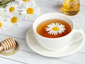 Bilder Tee Kamillen Tasse Untertasse Lebensmittel