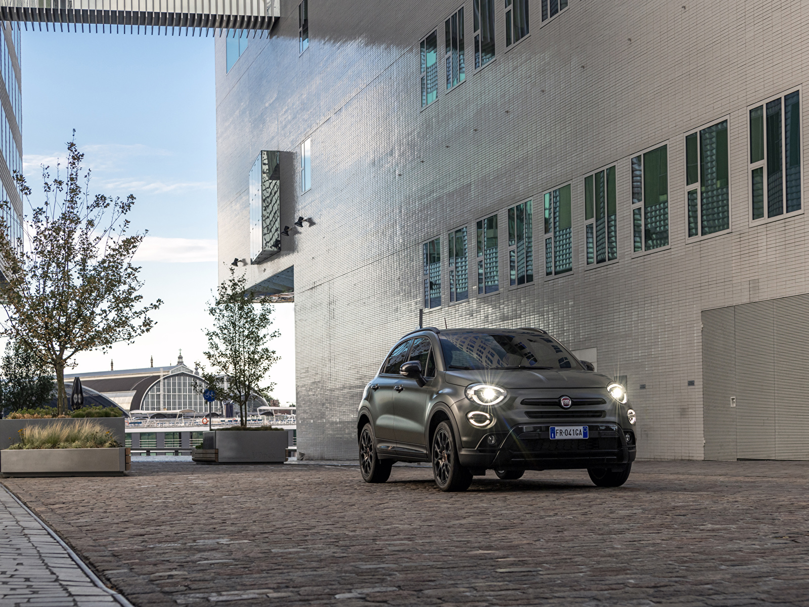 Foto Fiat 2019 500X Cross S-Design auto 1600x1200 Autos automobil
