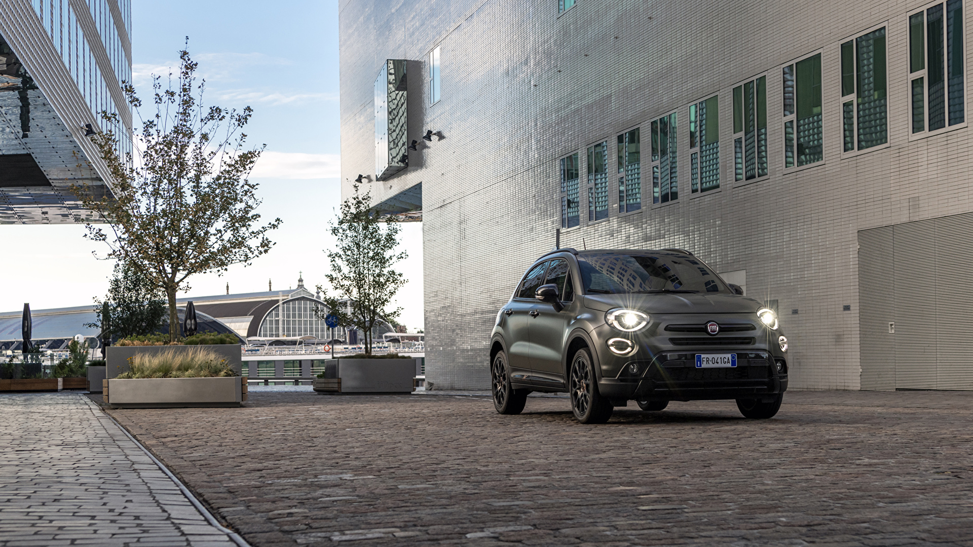 Foto Fiat 2019 500X Cross S-Design Autos 1920x1080