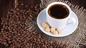 Fotos Kaffee Tasse Zucker Getreide