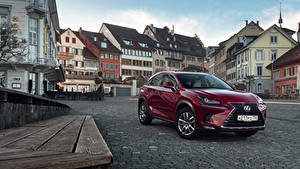 Bilder Lexus Bordeauxrot Metallisch 2018 NX 200 CIS-spec Autos