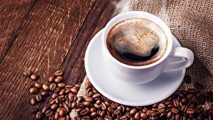 Fotos Kaffee Bretter Tasse Getreide Lebensmittel