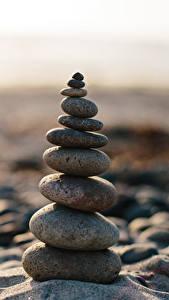 Hintergrundbilder Steine Nahaufnahme Balance