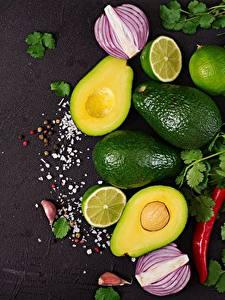 Bilder Avocado Limette