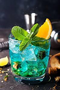 Hintergrundbilder Cocktail Trinkglas Eis Minzen