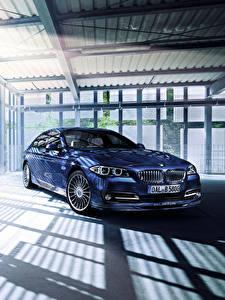 Fotos BMW Blau Limousine F10 Alpina 5-Series Autos