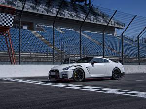 Wallpaper Nissan White 2019 GT-R Nismo Worldwide Cars