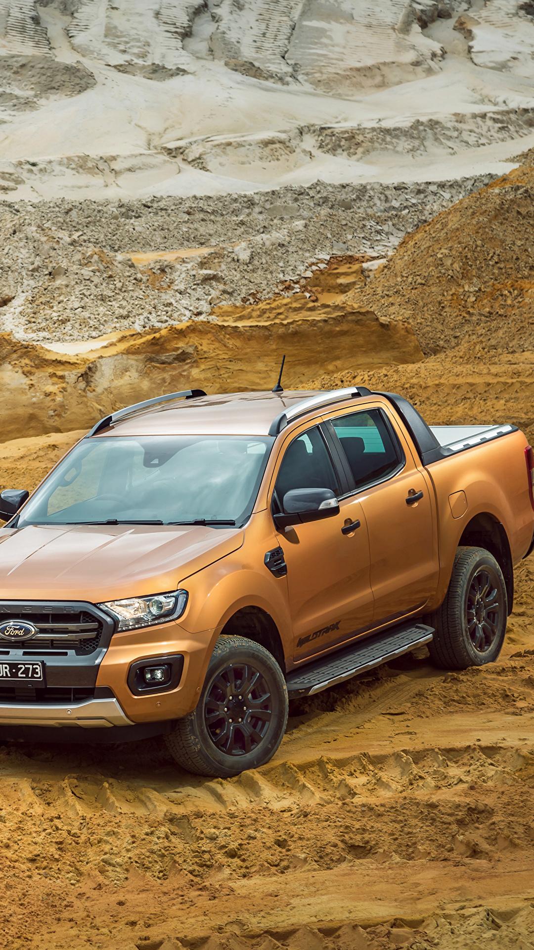 Fondos De Pantalla 1080x1920 Ford 2018 19 Ranger Wildtrak