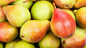 Wallpaper Pears Closeup