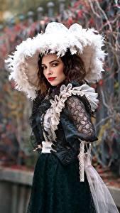 Fotos Antik Kleid Der Hut Bokeh Tanya Markova Mädchens