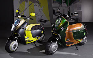 Fotos Motorroller Zwei 2010 MINI Scooter E Concept