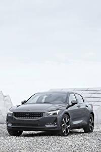 Papel de Parede Desktop Cinza Metálico 2019 Polestar 1 Worldwide carro