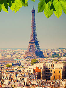 Bilder Frankreich Haus Paris Eiffelturm Megalopolis Städte