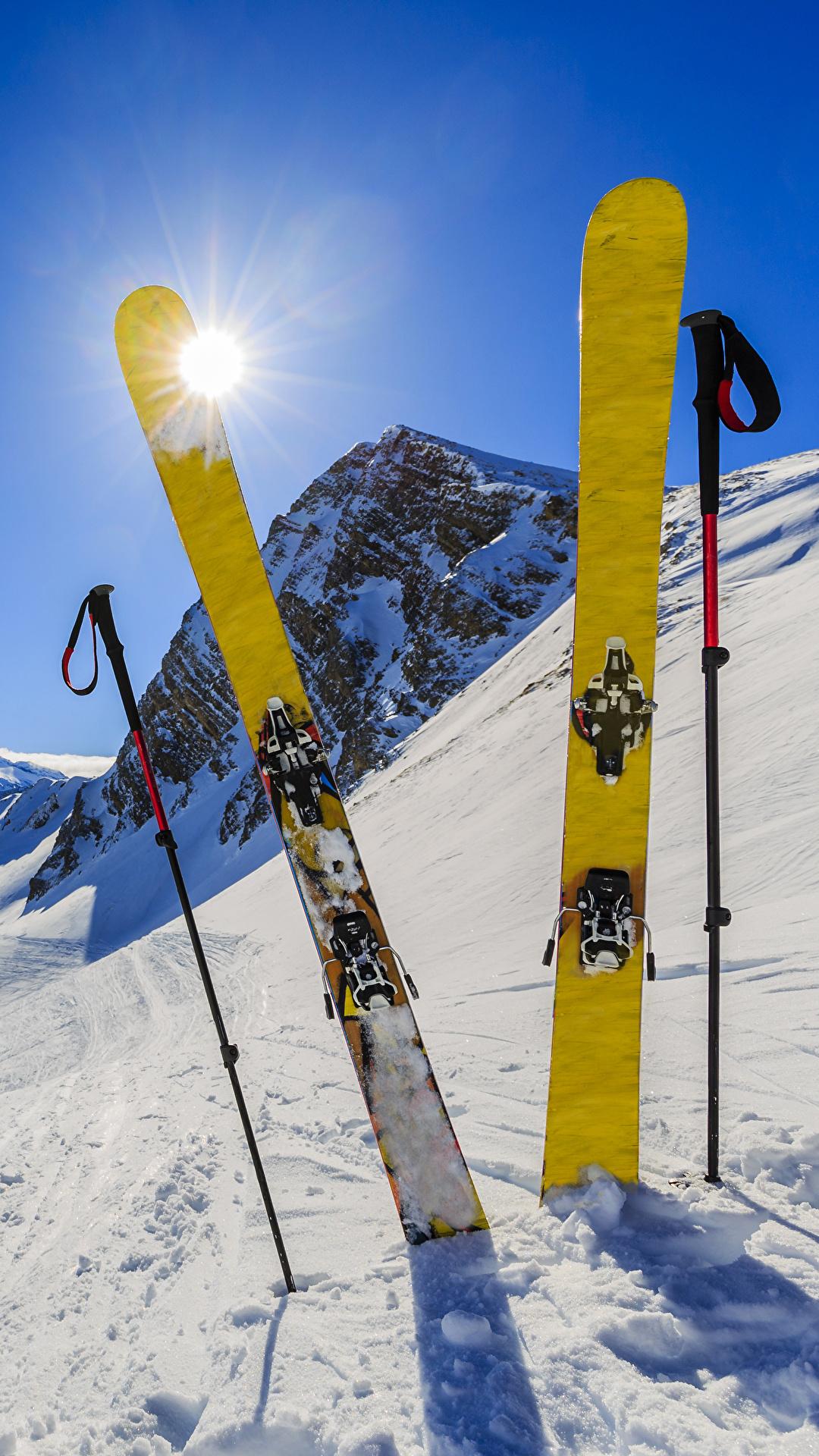 Fotos von Sport Natur Sonne Winter Schnee Skisport 1080x1920