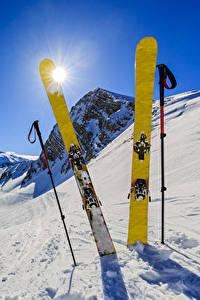 Hintergrundbilder Winter Skisport Schnee Sonne Natur Sport