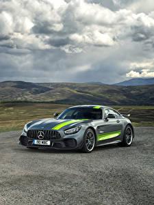 Hintergrundbilder Mercedes-Benz Tuning Graue 2019 AMG GT R PRO Autos