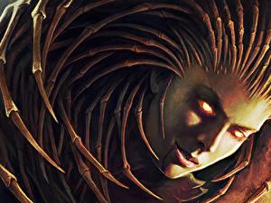Hintergrundbilder StarCraft Sarah Kerrigan Spiele Fantasy