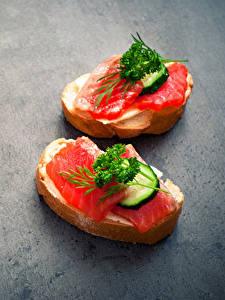 Hintergrundbilder Butterbrot Fische - Lebensmittel Brot Gemüse 2 Lebensmittel