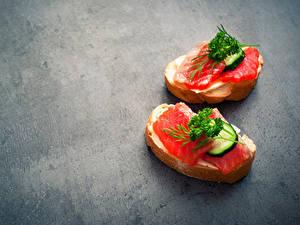 Hintergrundbilder Butterbrot Fische - Lebensmittel Brot Gemüse 2