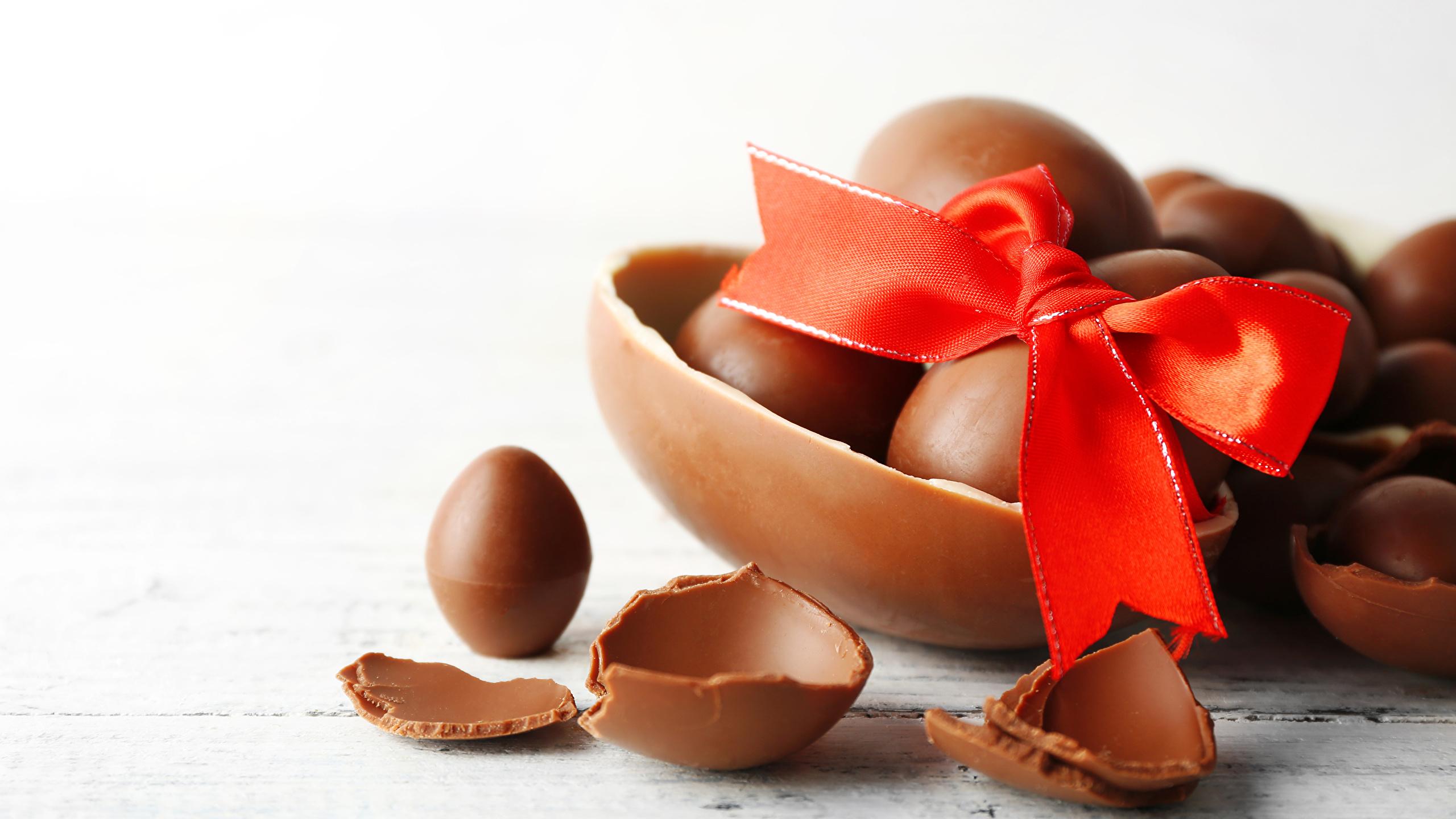 Fonds Decran 2560x1440 Jour Fériés Pâques Chocolat Fond