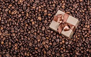Hintergrundbilder Kaffee Getreide Schachtel Geschenke Schleife Lebensmittel