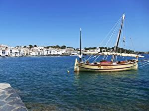 Bilder Spanien Gebäude Segeln Yacht